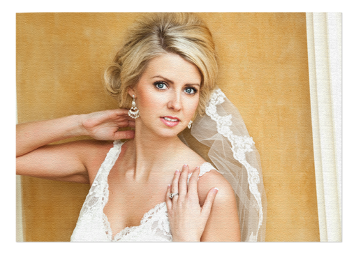 Textured professional photo processing with Mckenna