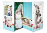 4x8 accordion book of senior girl