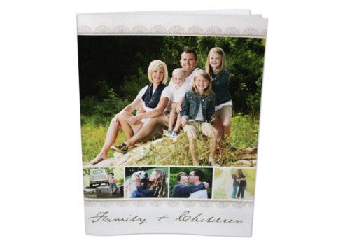 press print brochure of family