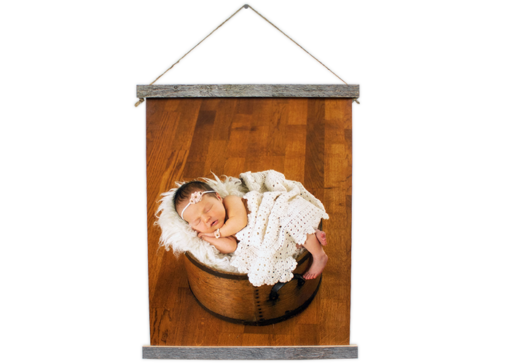 Professional photos turn to art with Mckenna's fine quality hanging canvas prints