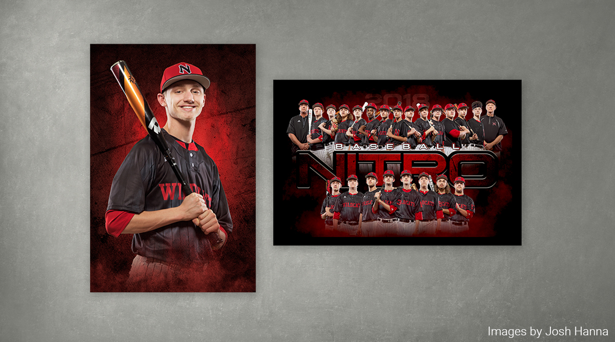 Sports Posters of baseball team
